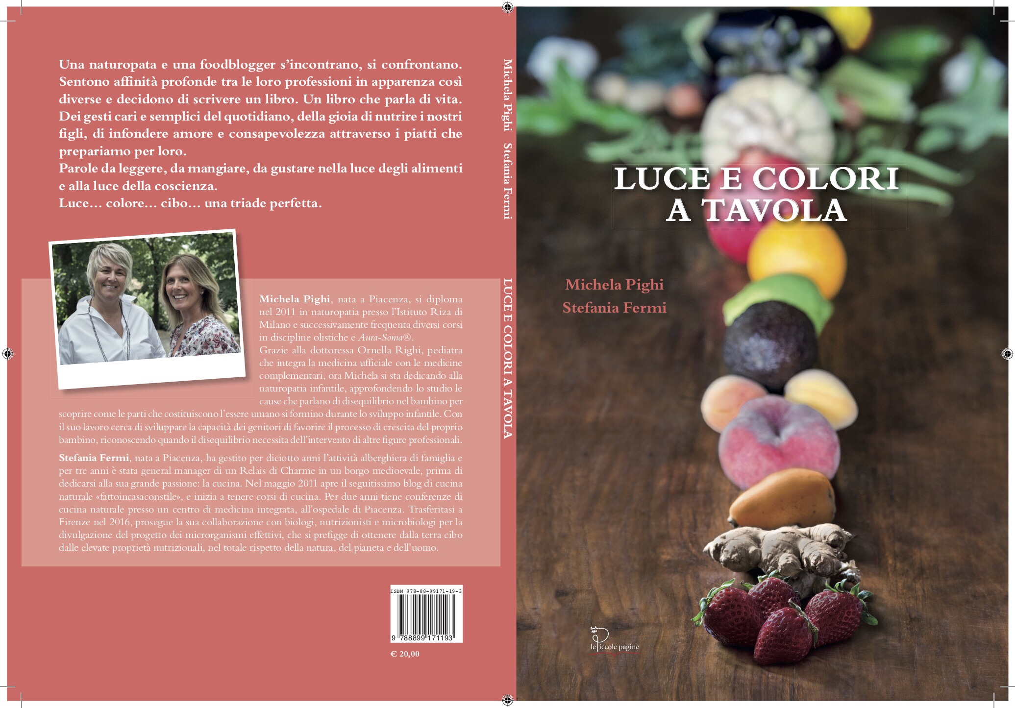 Libro Luce e colori a tavola di Stefania Fermi